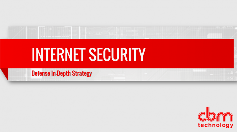 CBM Technology - Internet Security - Defense In-Depth Strategy