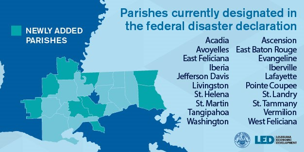 2016 flood parishes