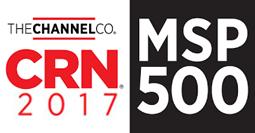 CRN 2017 MSP 500 Award