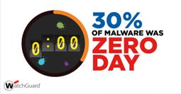 30% of malware was Zero Day
