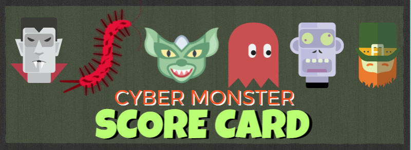 cyber security cyber monsters
