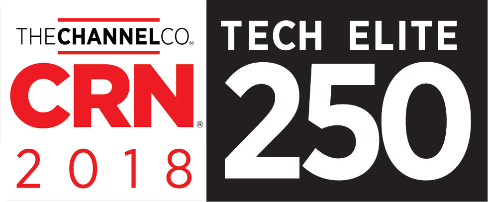 CRN 2018 - Tech Elite 250 Award