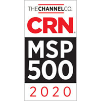 2020 MSP 500 Award - CRN - Managed Service Provider